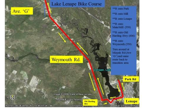 LLT Bike course