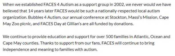 faces4autism statement1